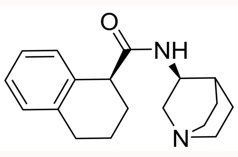 N-(1-氮杂双环[2.2.2]辛-3S-基)-1,2,3,4四氢萘-1S-甲酰胺