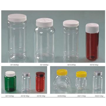 保健品口服固体药用聚酯瓶系列