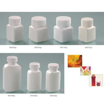 口服固体药用高密度聚乙烯瓶方瓶