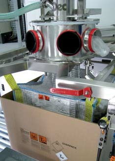 粉体转运--桶/包封装系统
