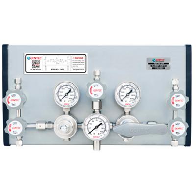 P3400系列半自动切换高压特气控制面板