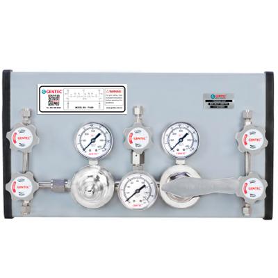 P3400系列半自动切换低压特气控制面板