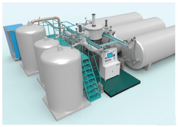 6工位低温罐抽真空系统
