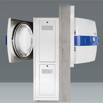 双扉穿墙式灭菌器 Systec H 系列 2D