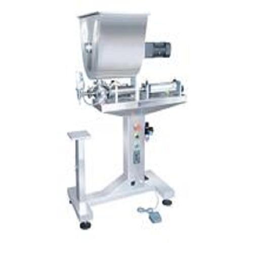 立式单头膏体灌装机带搅拌G1LGDB100-5000