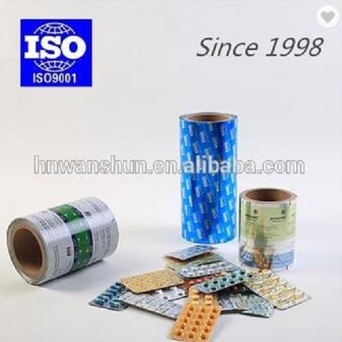 patterned colored medical aluminum foil roll