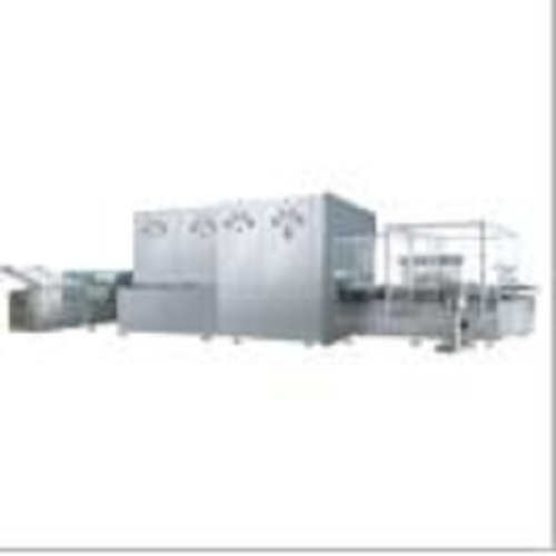 vial filling line for liquid