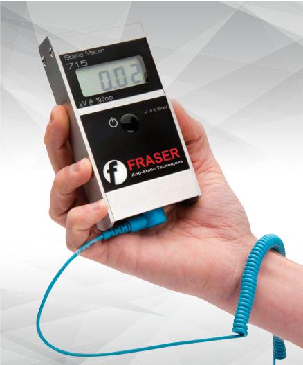 英国  FRASER  715 静电检测仪 FRASER 手持静电检测仪