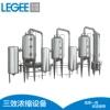 不锈钢中药三效浓缩器 发酵提取蒸发器 废水浓缩器真空减压浓缩器