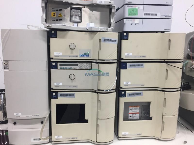 岛津LC -10A 液相色谱仪