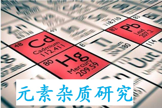 元素杂质方法学开发与验证研究