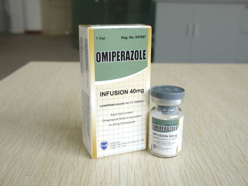 Omeprazole powder for injection
