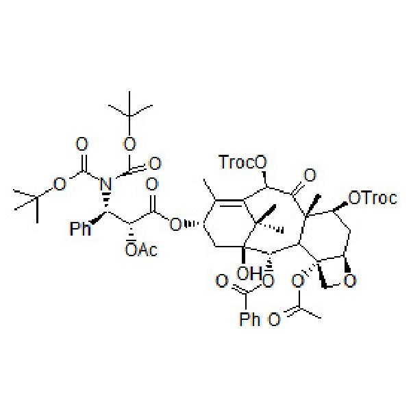 2'-Ac-7,10-DiTroc-N-DiBoc-Docetaxel