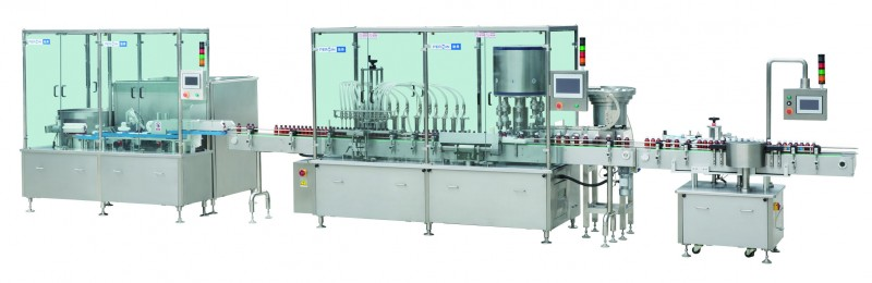 口服及外用液体高速灌装生产线