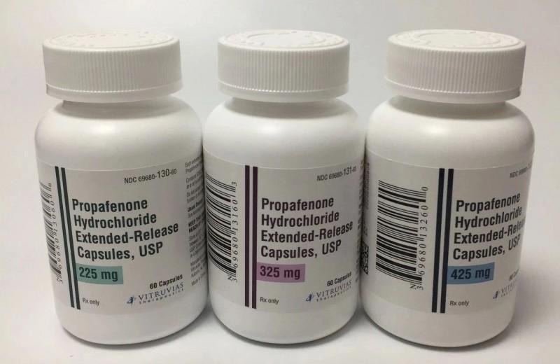 盐酸普罗帕酮缓释胶囊
