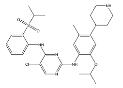 色瑞替尼Ceritinib(LDK378),CAS#1032900-25-6