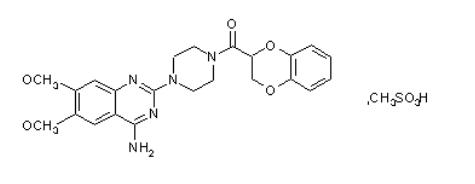甲磺酸多沙唑嗪