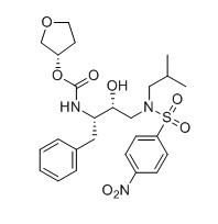 N-[(1S,2R)-1-苯甲基-2-羟基-3-(N-异丁基-4-硝基苯磺酰胺基)丙基]-(3S)-四氢呋喃-3-基氨甲酸酯
