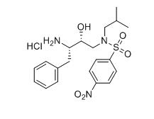 N-(3S-氨基-2R-羟基-4-苯基丁基)-N-异丁基-4-硝基-苯磺酰胺盐酸盐