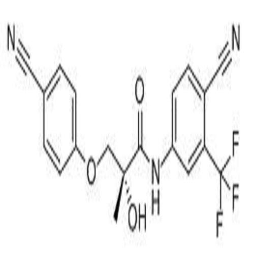 (2S)-3-(4-氰基苯氧基-2,3,5,6-D4)-N-[4-氰基-3-(三氟甲基)苯基]-2-羟基-2-甲基丙酰胺;(2R)-3-(4-氰基苯氧基)-N-[4-氰基-3-(三氟甲基)苯基]-2-