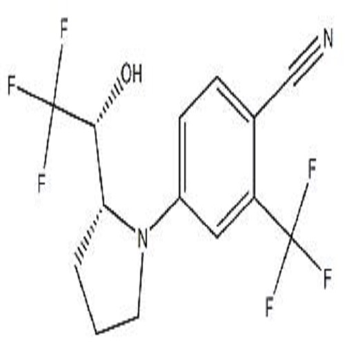 4-((R)-2-((R)-2,2,2-三氟-1-羟乙基)吡咯烷-1)-2-三氟甲基苯腈