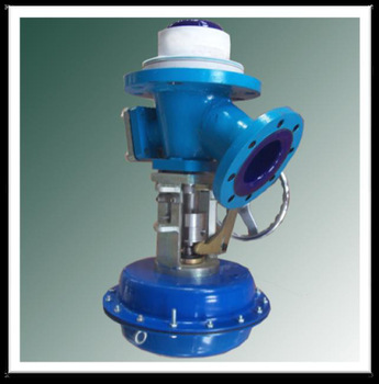 Pneumatic Glass Lined Flush Valve mechanical valve