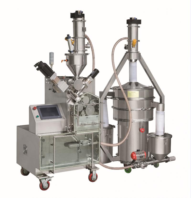 GLX-50 干法制粒机