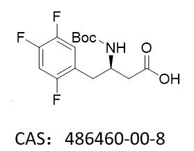 (3R)-N-叔丁氧羰基-3-氨基-4-(2,4,5-三氟苯基)丁酸 (R)-3-(tert-butoxycarbonyl)-4-(2,4,5-trifluorophenyl)butanoic aci