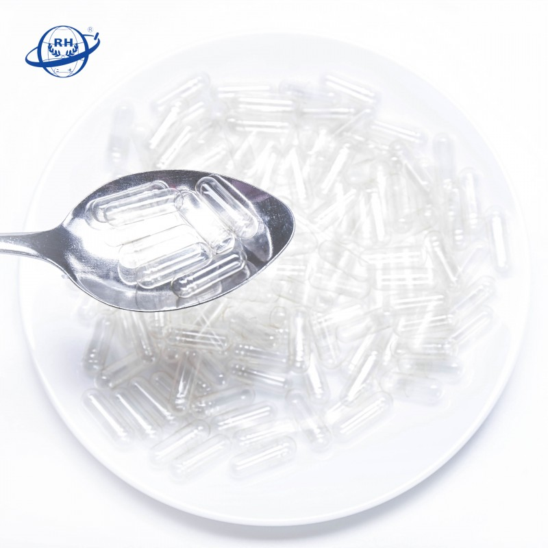 All size pharmaceutical clear hard empty gelatin capsules