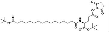 德谷胰岛素侧链(双叔丁基保护)