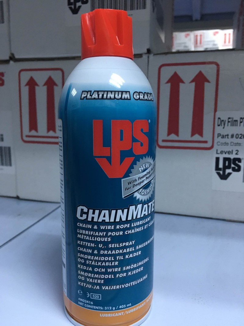 LPS 02416 Chain and Wire Rope Lubricant链条喷剂
