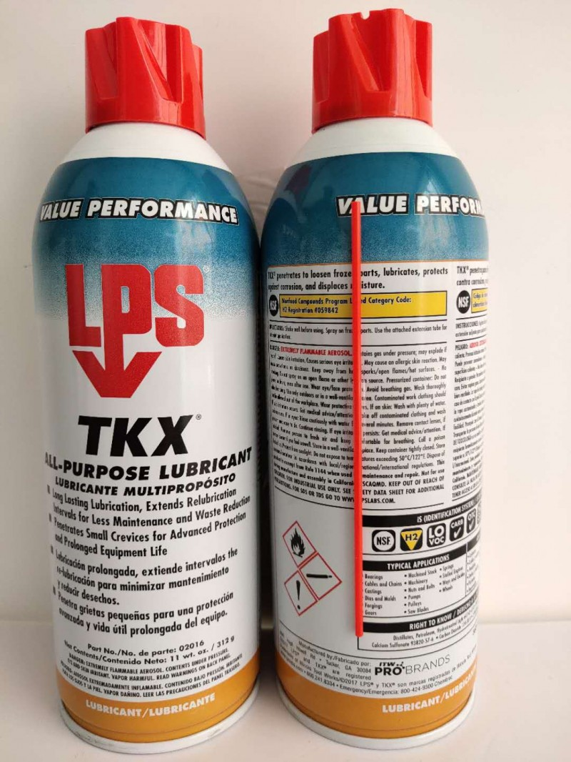 lps02016 TKX All-Purpose Lubricant多功能润滑剂