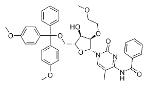 N-苯甲酰基-2'-O-甲氧基乙基-5-O-二甲氧基三苯甲基-5-甲基胞苷