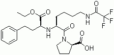 N2-[1-(S)-乙氧羰基-3-苯丙基]-N6-三氟乙酰基-L-赖氨酸-L-脯氨酸