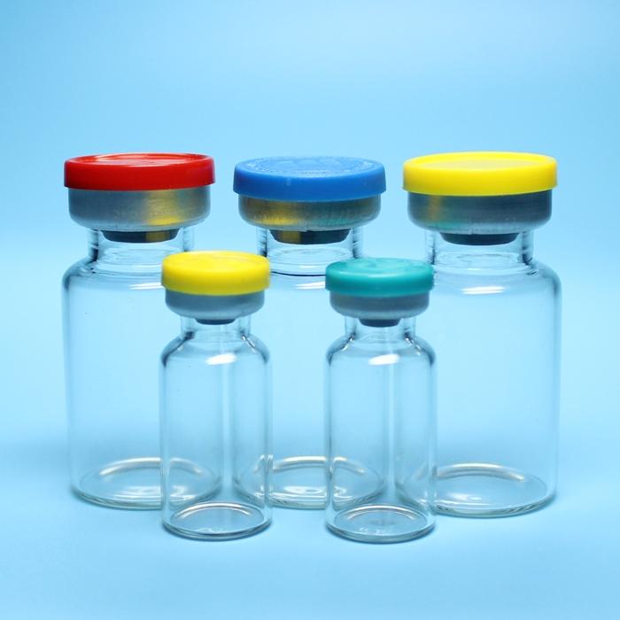 各种规格低硼硅或中性硼硅管制注射剂玻璃瓶