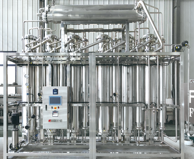 F型蒸馏水机
