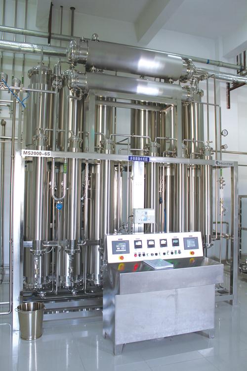 S型蒸餾水機