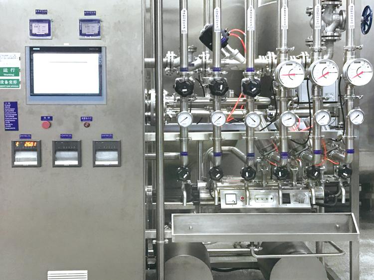 纯水贮存分配系统