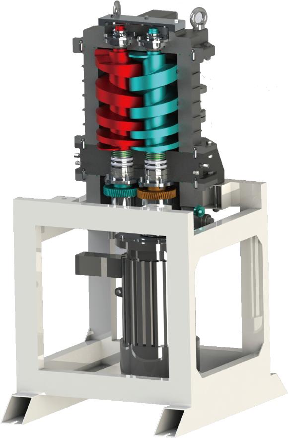 新型立式螺杆泵