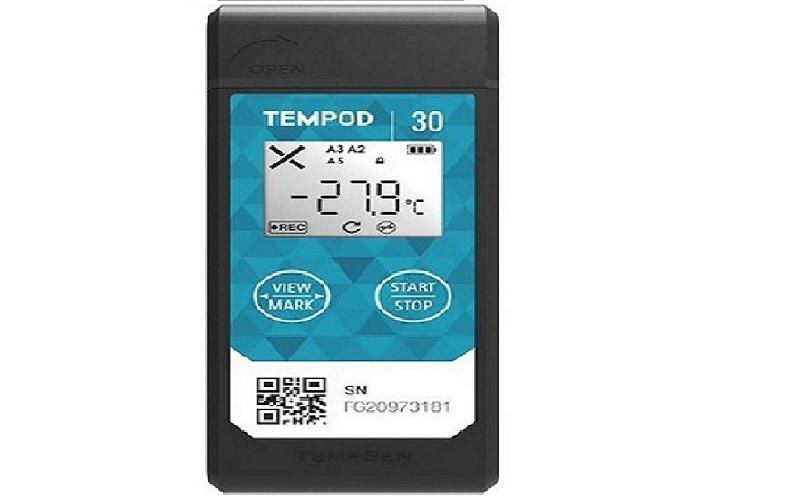Tempod30重复使用温度记录仪
