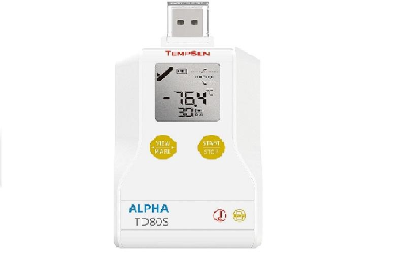 TD80S一次性干冰温度记录仪