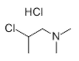 N,N-二甲氨基-2- 氯丙烷盐酸盐