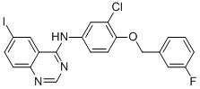 N-[3-氯-4-(3-氟苄氧基)苯基]-6-碘喹唑啉-4-胺