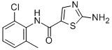 2-氨基-N-(2-氯-6-甲基苯基)噻唑-5-甲酰胺