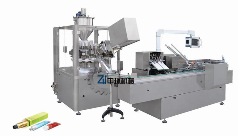 ZHF-80Z金属管灌装封尾机