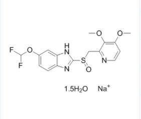 泮托拉唑钠倍半水合物