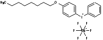 (4-辛烷氧基苯基)苯碘鎓六氟锑酸盐