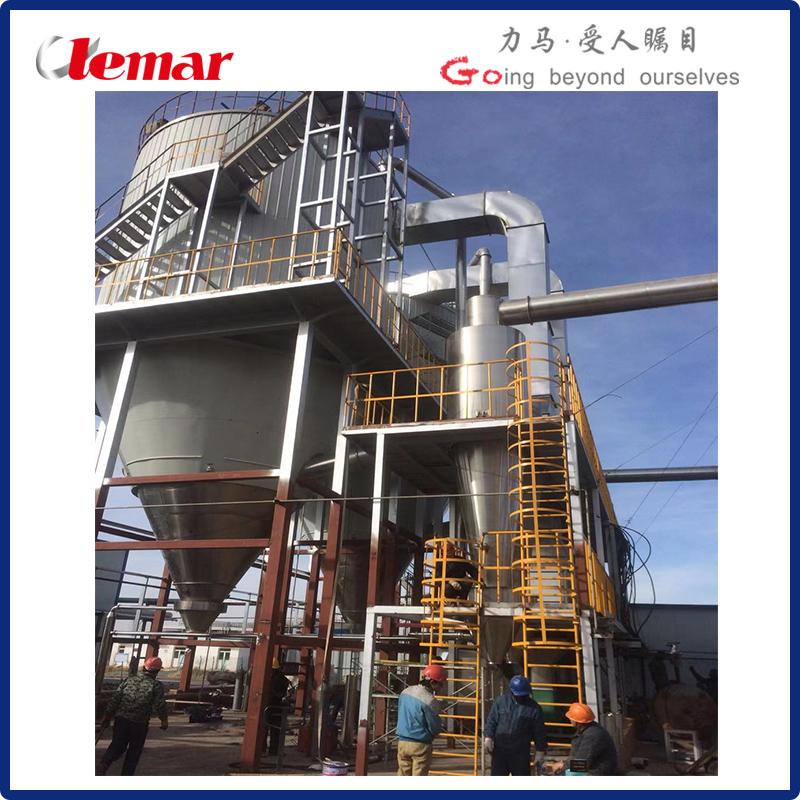 泰乐菌素精制液并流压力式雾化干燥机1500kg/h