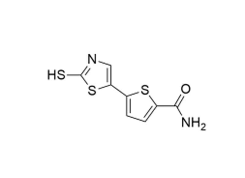 5-(2-mercaptothiazol-4-yl)thiophene-2-carboxamide