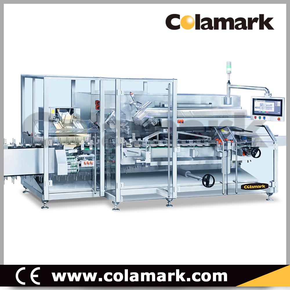 Colamark Bravo 智能高速伺服裝盒機